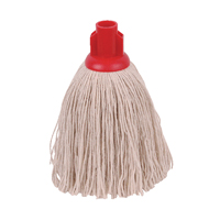 Compare retail prices of 2Work 12oz Twine Rough Socket Mop Red Pack of 10 PJTR1210I to get the best deal online