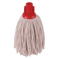 Compare prices for 2Work 12oz PY Smooth Socket Mop Red Pack of 10 PJYR1210I