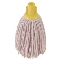 Compare retail prices of 2Work 12oz PY Smooth Socket Mop Yellow Pack of 10 PJYY2320I to get the best deal online