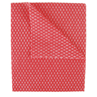 Compare retail prices of 2Work Economy Cloths Red 42X35CM Pack of 50 CCRC42BDI to get the best deal online