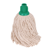 Compare retail prices of 2Work 14oz PY Smooth Socket Mop Green Pack of 10 PJYG1410I to get the best deal online