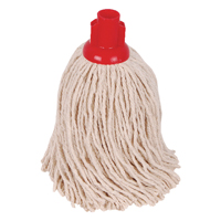 Compare retail prices of 2Work 14oz PY Smooth Socket Mop Red Pack of 10 PJYR1410I to get the best deal online