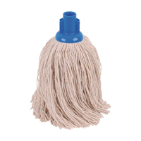 Compare prices for 2Work 14oz Twine Rough Socket Mop Blue Pack of 10 PJTB1410I