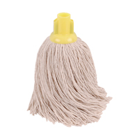 Compare prices for 2Work 14oz Twine Rough Socket Mop Yellow Pack of 10 PJTY1410I