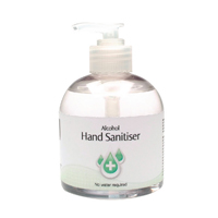 Compare prices for 2Work Alcohol Hand Sanitiser Pump 300ml Pack of 6 2W22906