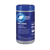 Compare prices for AF International PC-Clene Anti-Static Cleaning Wipes Tub Pack of 100 PCC100