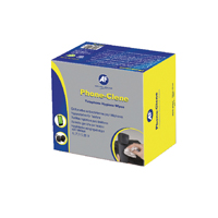 Compare prices for AF International Phone-Clene Telephone Wipe Sachets Pack of 100 APHC100