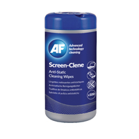 Compare prices for AF International Screen-Clene Anti-Static Screen Wipes Tub Pack of 100 ASCR100T