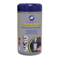 Compare prices for AF International Isoclene Bactericidal Wipes Tub Pack of 100 AISW100