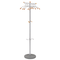 Compare retail prices of Alba ELegant Wave Metal and Wood Coat Stand PMWave to get the best deal online