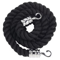 Compare prices for Albion Black Rope 25x1500mm With Chrome Hooks VERRS-CLRP-CHBL