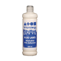 Compare prices for Brian Clegg PVA Glue Blue Label 600ml