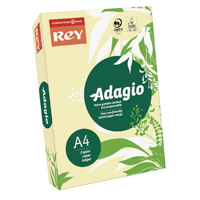 Compare prices for Adagio Pastel Canary A4 Coloured Card 160gsm Pack of 250 201.1202