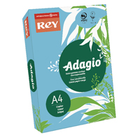 Compare prices for Adagio BRight Blue A4 Coloured Card 160gsm Pack of 250 201.1211
