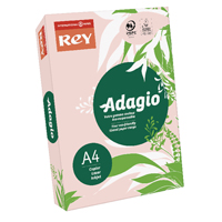 Compare prices for Adagio Pastel Pink A4 Coloured Card Pack of 250 201.1205
