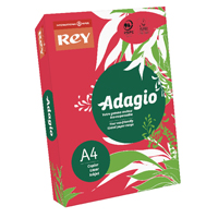Compare prices for Adagio Intense Red A4 Coloured Card 160gsm Pack of 250 201.1226