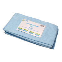 Compare retail prices of 2Work Blue 400x400mm Microfibre Cloth Pack of 10 101161BU to get the best deal online