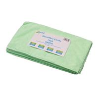 Compare retail prices of 2Work Green 400x400mm Microfibre Cloth Pack of 10 101161GN to get the best deal online