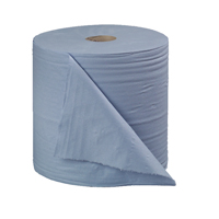 Cheapest price of 2Work Blue Bumper 2-Ply Paper Roll 270mmx400m Pack of 2 B2B340 in new is £18.99