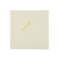 Compare prices for Robert Scott Hi-Shine Cloth Yellow 40x40cm Pack of 10 MIDHY410O