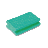 Compare prices for Robert Scott Finger Grip Scourers Green 130x70x40mm Pack of 10 SPCAGN60I