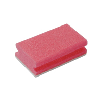 Compare prices for Robert Scott Finger Grip Scourers Red 130x70x40mm Pack of 10 SPCARE60I