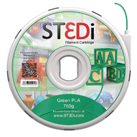 Compare prices for ST3Di Green PLA 3D Printing Filament 750g ST-6002-00