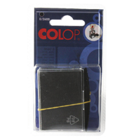 Compare prices for Colop Black Self Inking Rep Pads Pack of 2 E2600BK