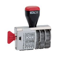 Compare prices for Colop Dial-A-Phrase Dater 04000WD
