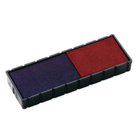Compare prices for Colop E122 Replacement Stamp Pad Blue Red Pack of 2 E122