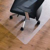 Compare prices for Cleartex Chair Mat Hard Floor 1200x750mm Clear FL74191