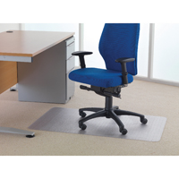 Compare prices for Cleartex Chair Mat Carpet 1200x750mm Clear FL74288