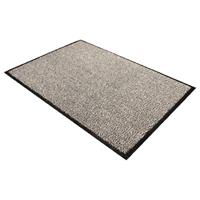 Compare prices for Doortex Floortex Black and White Doortex Dust Control Door Mat 600x900mm 46090