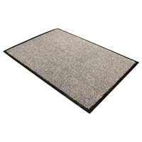 Compare prices for Doortex Black and White Dust Control Door Mat 1200x1800mm 49180DCBWV
