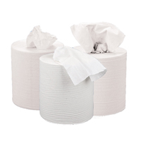 Compare prices for 2Work White 2 PlyCentrefeed Roll 150 Metres Pack of 6 KF03804