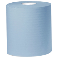 Cheapest price of 2Work Blue 2 PlyCentrefeed Roll 150 Metres Pack of 6 KF03805 in new is £13.71
