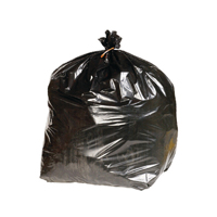 Compare retail prices of 2Work Black Heavy Duty Refuse Sack Pack of 200 KF73376 to get the best deal online