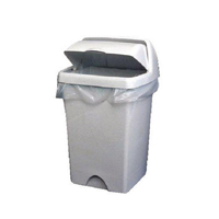 Compare retail prices of 2Work White Swing Bin Liners 45 Litres Pack of 1000 KF73379 to get the best deal online