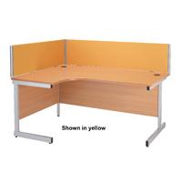Compare prices for Jemini 1400mm Black Straight Desk Screen KF73914