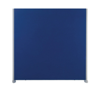 Compare prices for Jemini 1200x1200 Blue Floor Standing Screen Including Feet KF74326