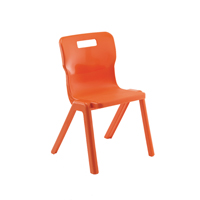 Compare prices for Titan 1 Piece Room 380mm Orange Pack of 10 KF78565