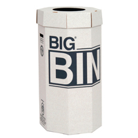 Compare prices for Acorn Green Big Recycling Bin 160 Litre Pack of 5 142958