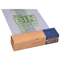 Compare retail prices of Acorn Twin Bin Heavy Duty Recycling Liner Pack of 50 504293 to get the best deal online