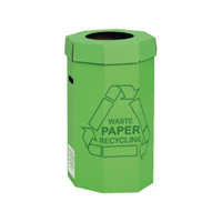 Compare retail prices of Acorn Green Cardboard Recycling Bin 60 Litre Pack of 5 402565 to get the best deal online