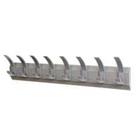 Compare prices for Acorn Wall Mounted Coat Rack With 8 Hooks NW620582
