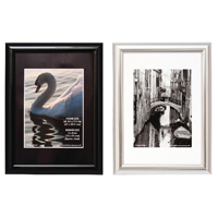 Compare prices for Photo Album Company A4 Shiny Black Certificate Frame PILA4SHIN-Black