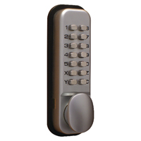 Compare prices for Securikey Lockit Mechanical Push Button Digital Lock Chrome DXLOCKITHBC