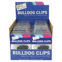 Compare prices for Tallon Bulldog Clips in Counter Display Unit Pack of 12 9194