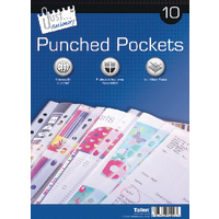 Compare prices for Tallon 10 Punched Pockets Pack of 12