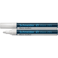 Compare prices for Schneider Maxx 265 Liquid Chalk Bullet Tip Marker 1-3mm White